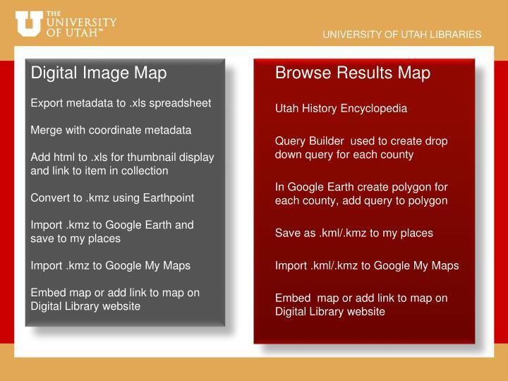 Digital Image Map
