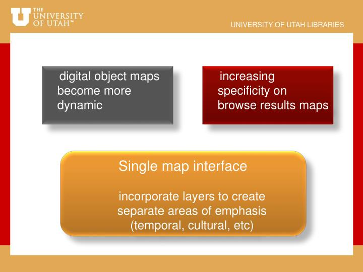 digital object maps become more dynamic