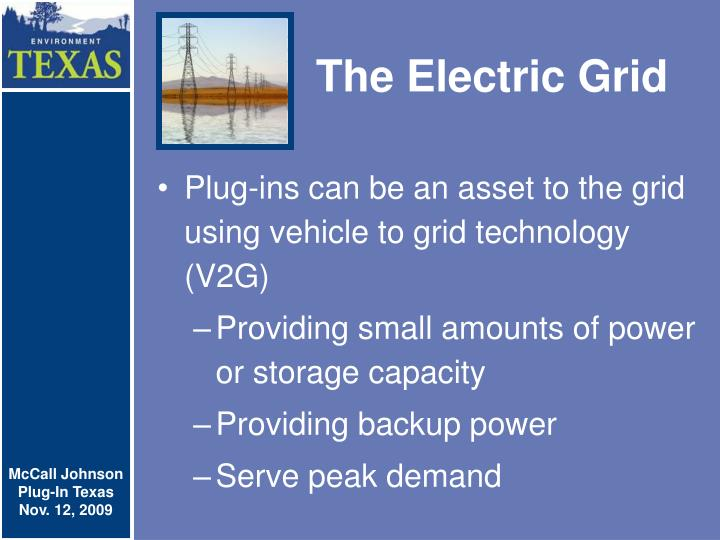 The Electric Grid
