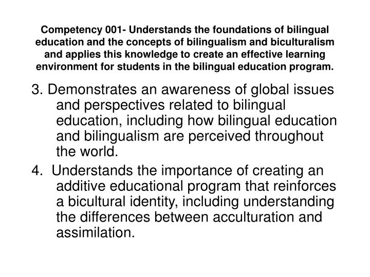 an argument that the bilingual education is structurally ineffective Bilingual education has been a hot political topic for many decades in the united states, and is a he relates that the case for bilingual education is convincing, but has never reached the public only 9% of those supporting the referendum said they felt bilingual education was ineffective.
