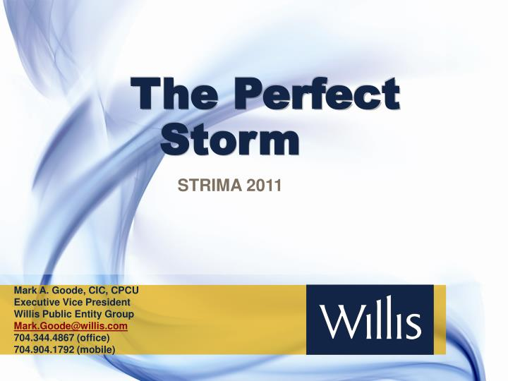 the perfect storm n.