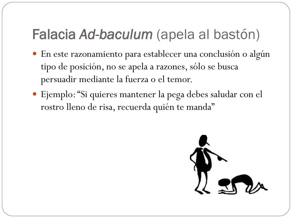 Populum argumentum ejemplo ad ad ¿En
