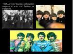 1964 jovens loucos e cabeludos seguem o som dos beatles na inglaterra