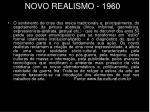 novo realismo 1960