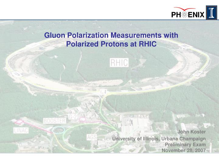 gluon polarization measurements with polarized protons at rhic n.