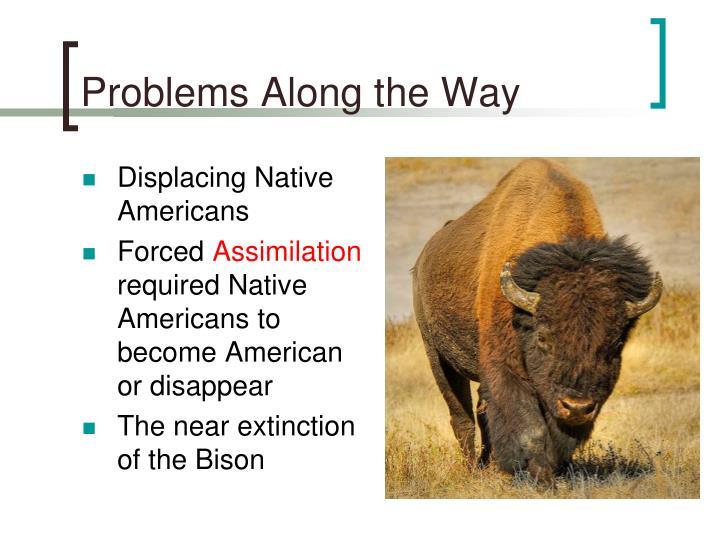Displacing Native Americans
