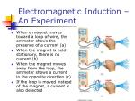 electromagnetic induction an experiment