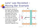 lenz law revisited moving bar example