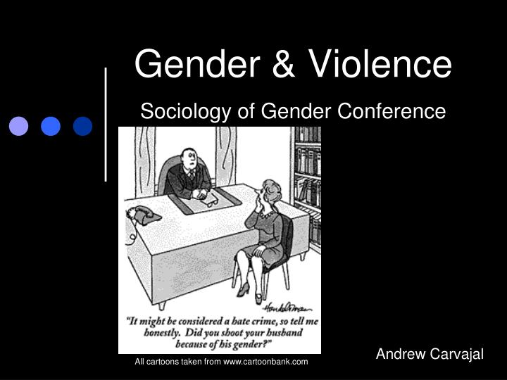 gender violence sociology of gender conference n.