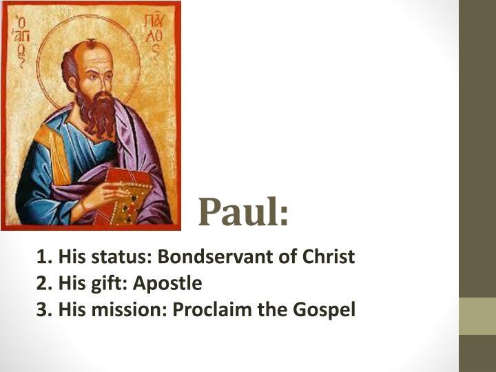 Paul: