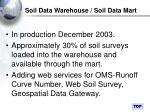 soil data warehouse soil data mart