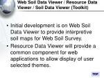 web soil data viewer resource data viewer soil data viewer toolkit