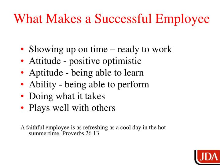 What Makes a Successful Employee