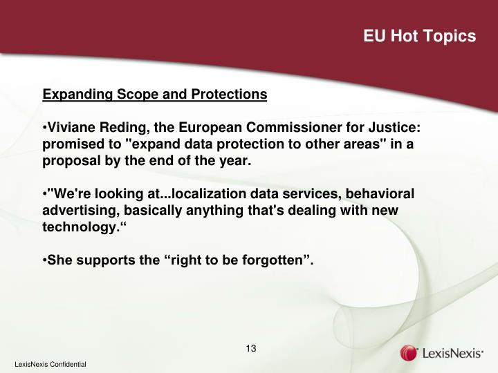 EU Hot Topics