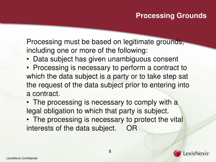 Processing Grounds