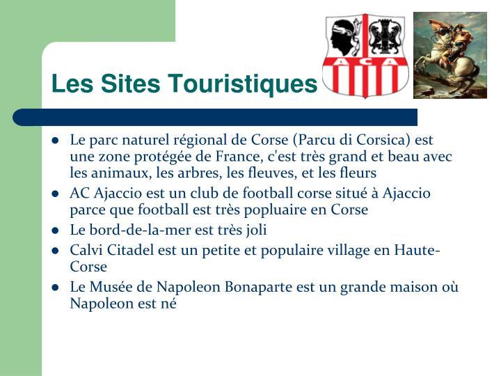 Les Sites Touristiques
