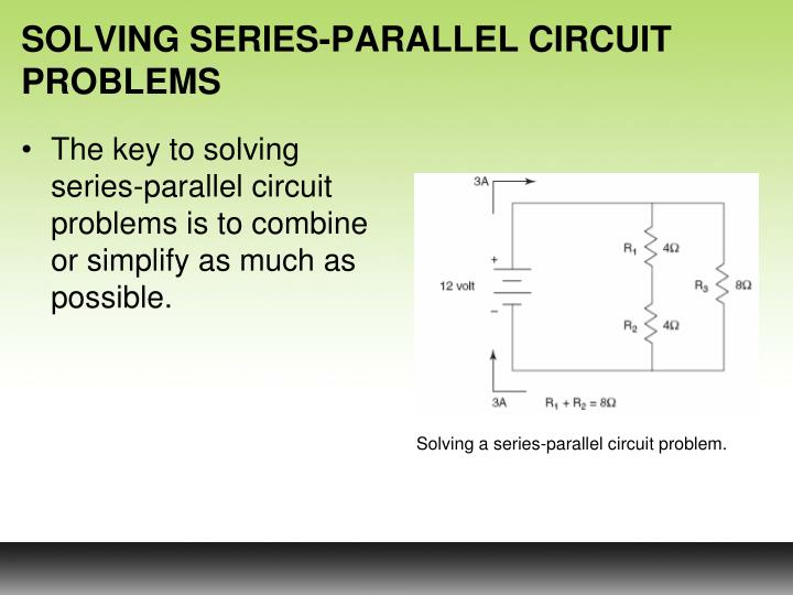 SOLVING SERIES-PARALLEL CIRCUIT PROBLEMS