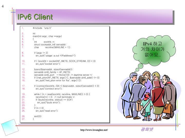 IPv6 Client