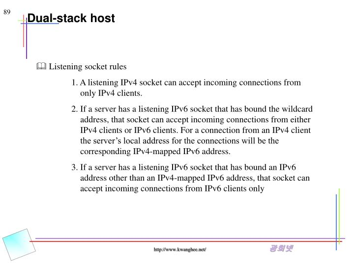 Dual-stack host