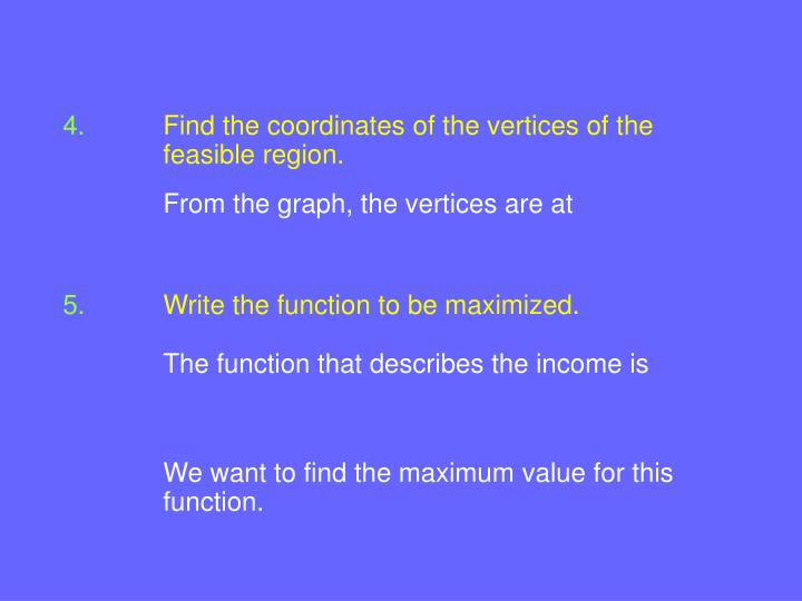 Find the coordinates of the vertices of the