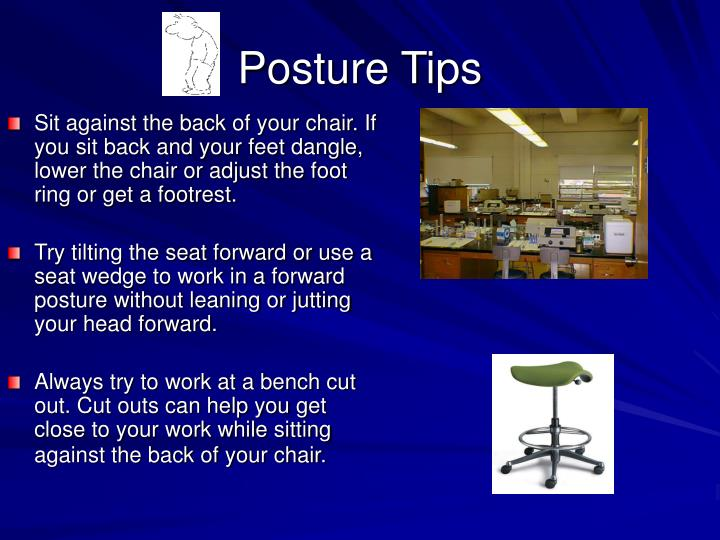 Posture Tips