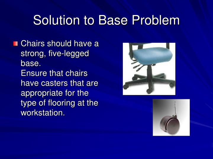 Solution to Base Problem