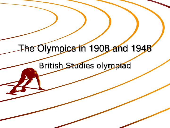 the olympics in 1908 and 1948 n.