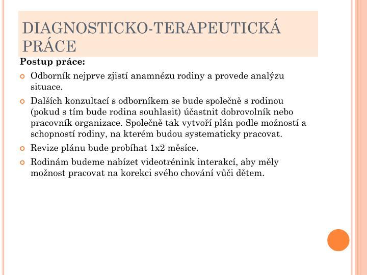 DIAGNOSTICKO-TERAPEUTICKÁ PRÁCE