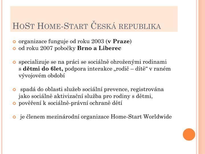 Host home start esk republika