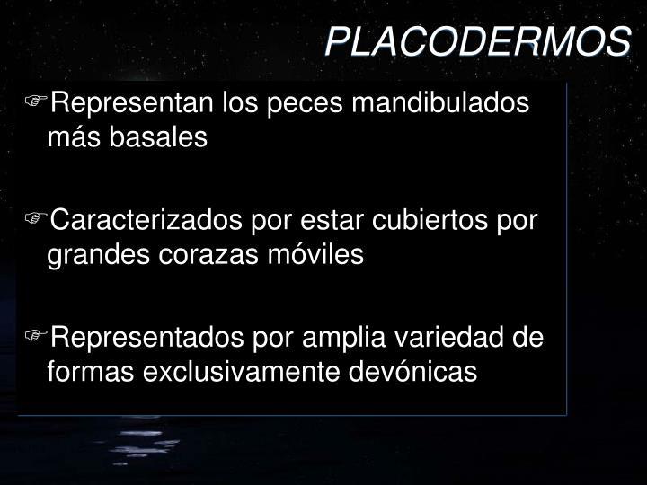 PLACODERMOS