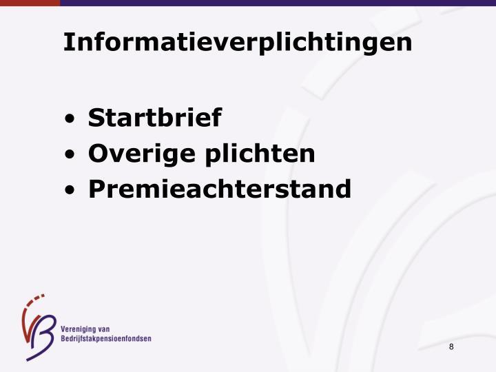 Informatieverplichtingen