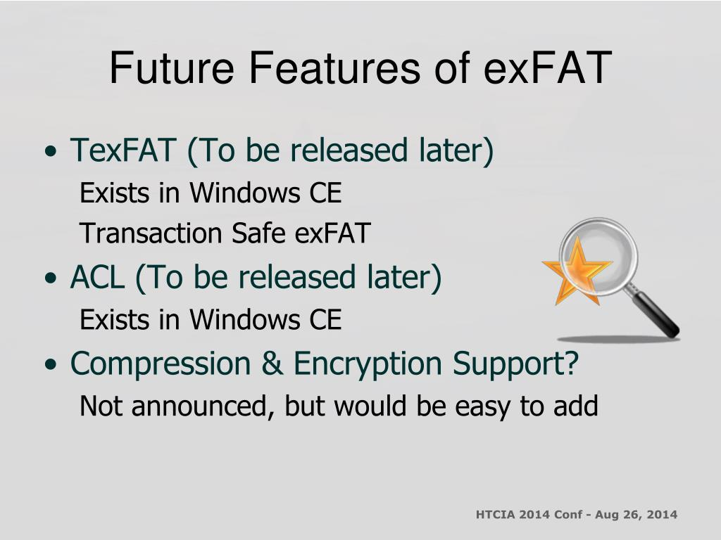 PPT - Introduction to the Microsoft exFAT File System