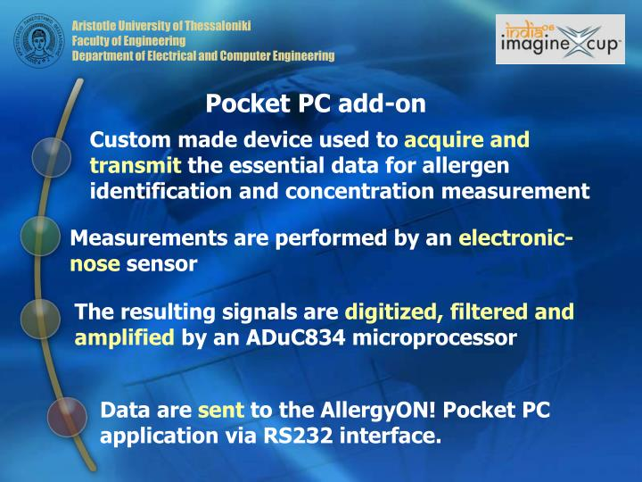 Pocket PC add-on