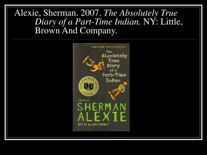 indian education sherman alexie rhetorical Sherman alexie indian education sherman uses little stories in each of his grade from primary school through high school to show his change in mind and how the environment surround him effects him.