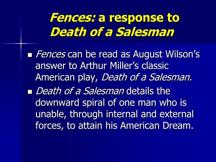 the fences of a salesman