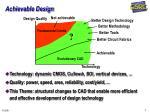 achievable design