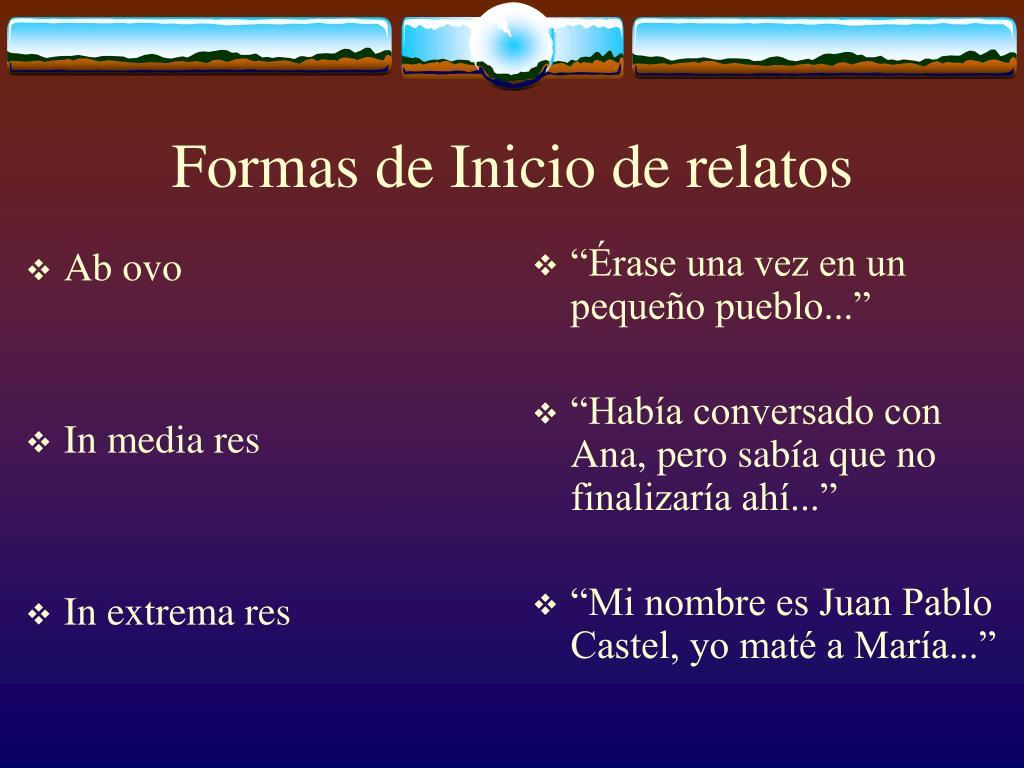 Ppt Narrativo Powerpoint Presentation Free Download Id