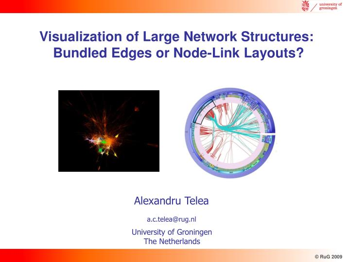 Ppt visualization of large network structures bundled edges or visualization of large network structures ccuart Images