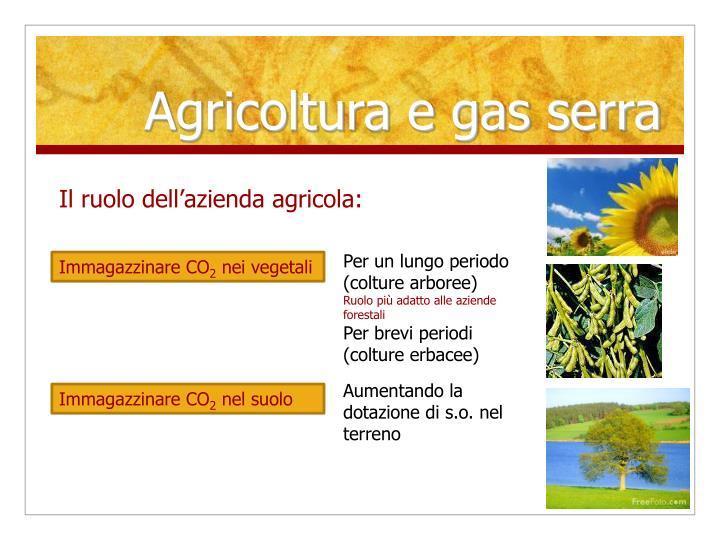 Agricoltura e gas serra1