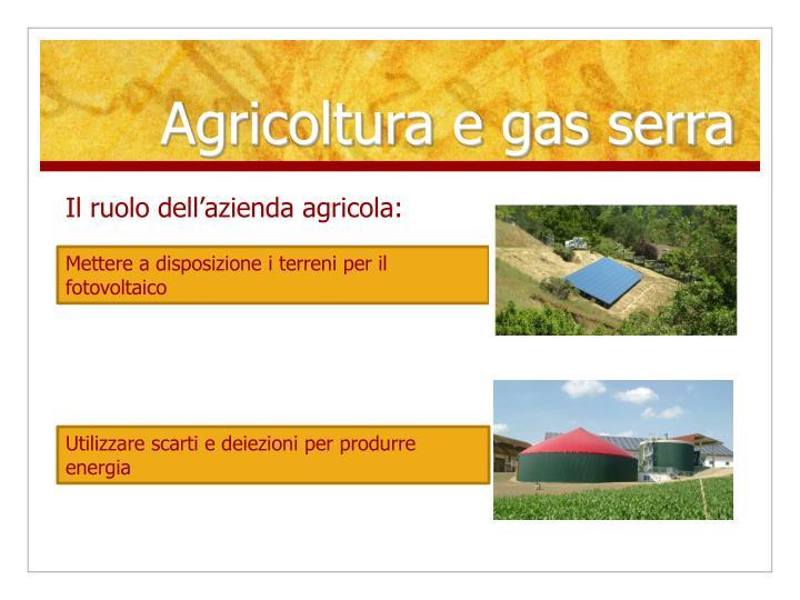 Agricoltura e gas serra2