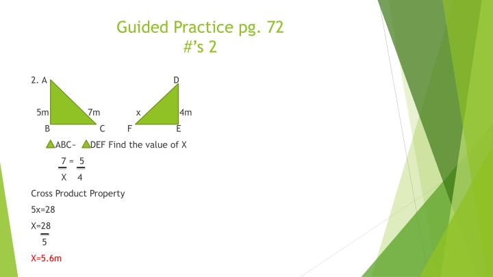 Guided Practice pg. 72