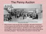 the penny auction