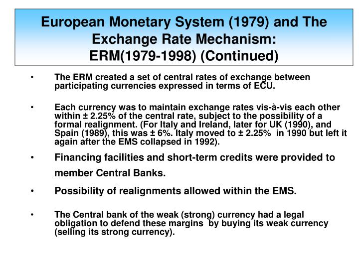 european monetary system's strengths and weaknesses