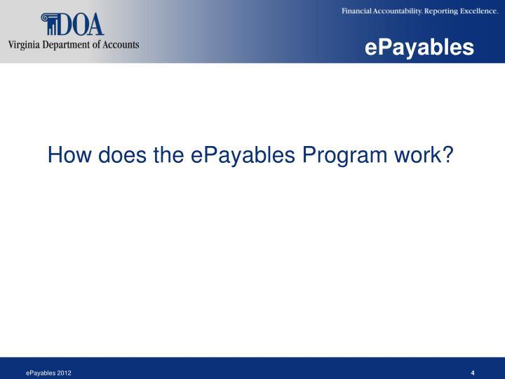 ePayables
