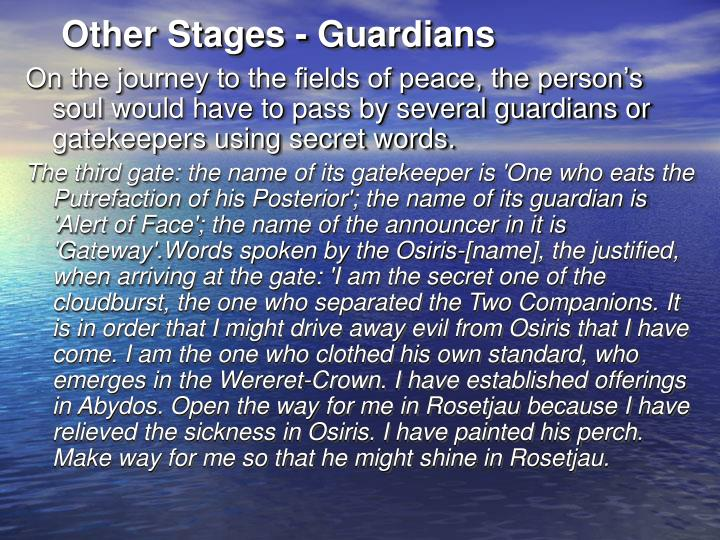 Other Stages - Guardians