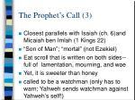 the prophet s call 3