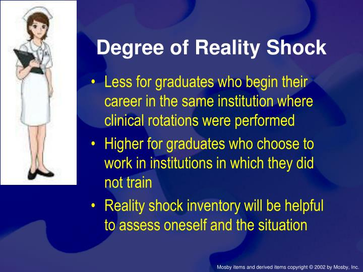 Degree of Reality Shock
