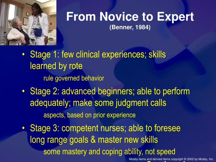 From Novice to Expert