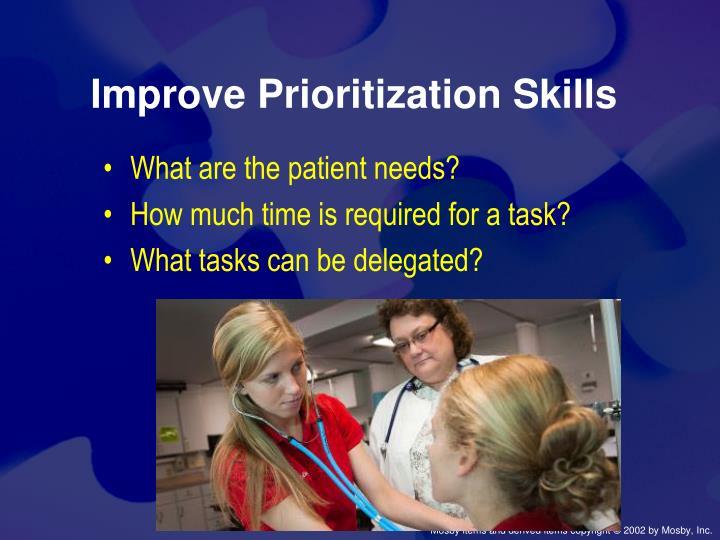 Improve Prioritization Skills