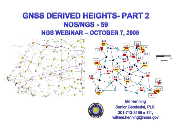 gnss derived heights part 2 nos ngs 59 n.